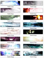 Product picture Abstract Header Collection
